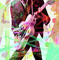 Chuck Berry by David Lloyd Glover