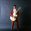 Chuck Berry Portrait Session by Michael Ochs Archives