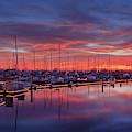 Chula Vista J Street Marina Sunset by Sam Antonio Photography