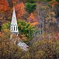 Church In The Wildwood by Harriet Feagin