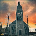Church Of Days Past by Robert Radmore