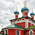 Church Of Saint Dmitry On The Blood, Uglich, Russia by Kay Brewer