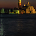 Church Of San Giorgio Maggiore Before Sunrise by Tim Bryan