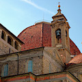 Church Roof In Florence by Mark Duehmig
