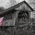 Cilleyville Bog Covered Bridge by Jeff Folger