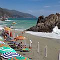 Cinque Terre Beach by Brian Jannsen