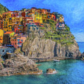 Cinque Terre Italy - Dwp1859688 by Dean Wittle