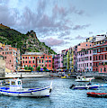 Cinque Terre - Vernazza From The Breakwater Medium by Weston Westmoreland