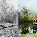 City - Brown's Landing Fl - Princess And The Photographer 1890 - Side By Side by Mike Savad