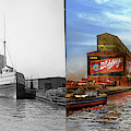 City - Chicago Il - Drink Schlitz - 1900 Side By Side by Mike Savad