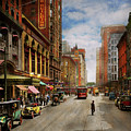 City - Chicago Il - The Brevoort Hotel 1910 by Mike Savad