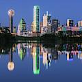 City Of Dallas, Texas Reflection by Robert Bellomy
