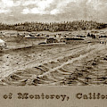 City Of Monterey, California. November First, 1875.  Copy Of Pai by California Views Archives Mr Pat Hathaway Archives
