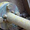 Spanish American War Era Battery Jekyll Island Closeup 02 by Bruce Gourley