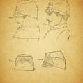 Civil War Military Hat by Dan Sproul