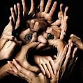 Class Hand Face by Kasey Jones