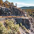 Classic Colorado Durango Colorado Train In The San Juan Mountains by Gregory Ballos