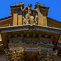 Classical Detail On Palace Of Fine Art Building by Garry Gay