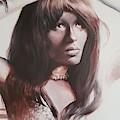 Claudia Lennear.brown Sugar.lady Grinning Soul by Vali Irina Ciobanu