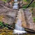 Clearwater Waterfall. by Leland D Howard