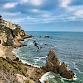 Cliffs Of Corona Del  Mar by Brian Eberly