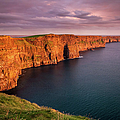 Cliffs Of Moher, Ireland At Sunset by Pierre Leclerc Photography