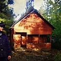 Closing The Cabin For Winter by Timothy Bulone
