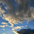 Clouds Go Vertical Over Grand Junction by Ray Mathis
