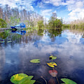 Clouds In The Water by Debra and Dave Vanderlaan