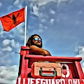 Clouds On A Lifeguard by Alice Gipson