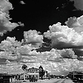 Clouds Over Seligman by Andreas Feininger