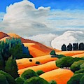Clouds Over Windy Hill by Gary Coleman