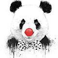 Clown Panda by Balazs Solti
