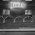 Club Frisco Neon And Four Windows - Rogers Arkansas Monochrome by Gregory Ballos