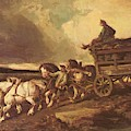 Coal Cars 1822 by Gericault Theodore