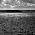 Coast In Black And White by Mark Hunter