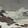 Coast In Winter, 1892 by Winslow Homer