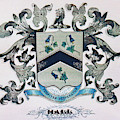 Coat Of Arms - Hall by Angelcia Wright