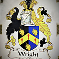 Coat Of Arms - Wright by Angelcia Wright