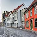Cobblestone Street by Paul Quinn