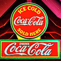 Coca-cola Sign At The Zoo by Garry Gay