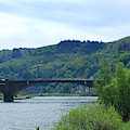 Cochem Castle And River Mosel In Germany by Victor Lord Denovan