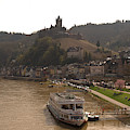 Cochem Castle, Town And River Mosel In Germany by Victor Lord Denovan