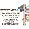 Coddiwomple by Heather Applegate