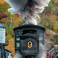 Cog Railway Steamer 2876 by Dan Beauvais