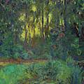 Coin Du Bassin Aux Nympheas by Claude Monet