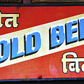Cold Beer In India by David Lee Thompson