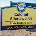 Colonel Allen Allensworth State Park by Gene Parks
