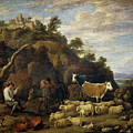 Coloquio Pastoril   by Teniers  David
