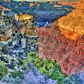 Color Me Beautiful Grand Canyon National Park Arizona Art by Reid Callaway